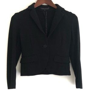 Theory Classic Cropped Career Blazer